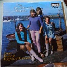 Discos de vinilo: THE MACDONALD SISTERS - FOUR BONNIE HIGHLAND LASSIES (EMERALD GEM , UK, 1969). Lote 263614370