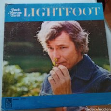 Discos de vinilo: GORDON LIGHTFOOT - BACK HERE ON EARTH (UNITED ARTISTS RECORDS, US, 1968). Lote 263614940