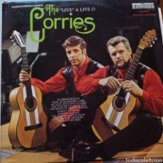 Discos de vinilo: THE CORRIES - LIVE A LIVE O (CONTOUR, UK, 1972). Lote 263614995