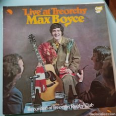 Discos de vinilo: MAX BOYCE - 'LIVE' AT TREORCHY (ONE-UP, UK, 1974). Lote 263615205