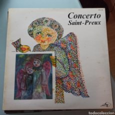 Discos de vinilo: SAINT-PREUX - CONCERTO (DISC'AZ, FRANCE). Lote 263615600