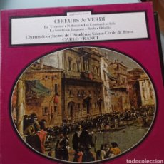 Discos de vinilo: VERDI - CHŒURS DE VERDI (DECCA, FRANCE, 1974). Lote 263624800