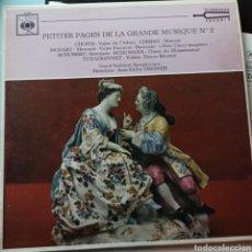 Discos de vinilo: PETITES PAGES DE LA GRANDE MUSIQUE N°2 (CBS, FRANCE). Lote 263625025