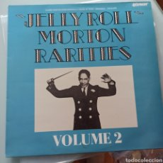 Discos de vinilo: JELLY ROLL MORTON - RARITIES VOLUME 2 (RHAPSODY, UK, 1986). Lote 263627425