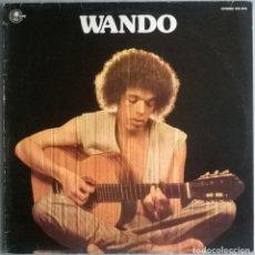 Discos de vinilo: WANDO. WANDO. CARNABY, SPAIN 1977 LP (JAZZ-BOSSANOVA-FUNK). Lote 263627825