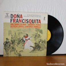 Discos de vinilo: ORQUESTA DE CAMARA DE MADRID -LP VINILO- DOÑA FRANCISQUITA. ANA MARIA OLARIA DOLORES PEREZ ALFREDO K. Lote 263628765