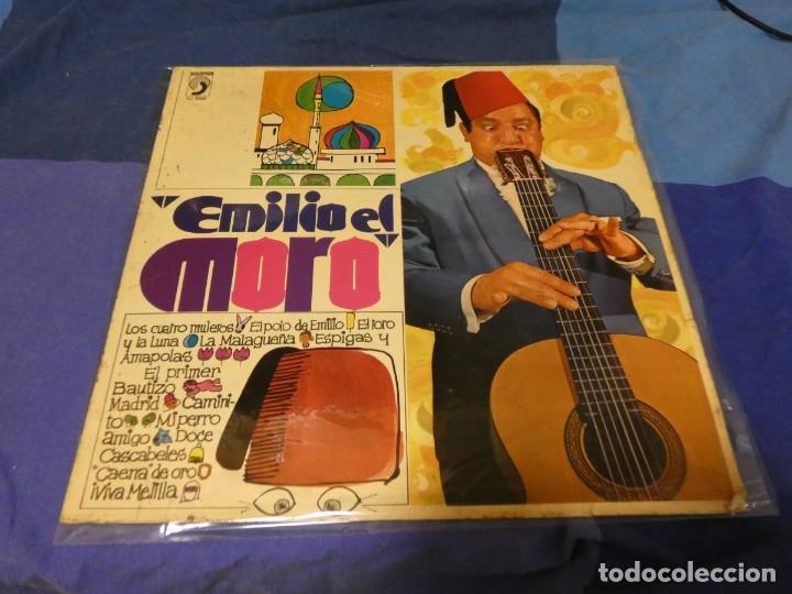 LP DEL TERRORISTA ANARCO PUNK PRE-ESKORBUTO EMILIO EL MORO 1969 BUEN ESTADO (Música - Discos - LP Vinilo - Jazz, Jazz-Rock, Blues y R&B)