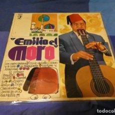 Discos de vinilo: LP DEL TERRORISTA ANARCO PUNK PRE-ESKORBUTO EMILIO EL MORO 1969 BUEN ESTADO. Lote 263629480
