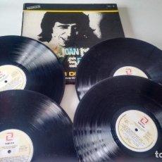 Discos de vinilo: CAJA DE 4 LPS ( VINILO) DE JOAN MANUEL SERRAT ALBUM DE ORO. Lote 263636425