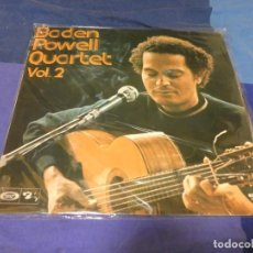 Discos de vinilo: LP BADEN POWELL QUARTET VOL 2 ESPAÑA 1975 VINILO BUEN ESTADO. Lote 263637360