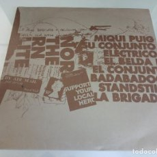 """Discos de vinilo: EP VINILO 10"""" - MIQUI PUIG Y SU CONJUNTO ELECTRICO - LA005 / 2008 / MUY RARO!!!!!!. Lote 263649680"""