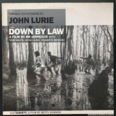 Discos de vinilo: JOHN LURIE ‎ ORIGINAL SOUNDTRACKS FROM DOWN BY LAW AND VARIETY LP NORMAL 50 GERMANY 1987 VINILO EX. Lote 263654035