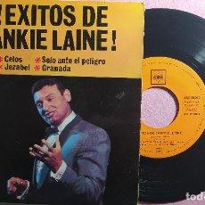 """Discos de vinilo: 7"""" FRANKIE LAINE - CELOS / JESABEL +3 CBS AGS 20.010 - SPAIN PRESS- EP (EX-/EX-). Lote 263661670"""