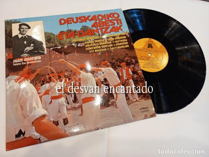 DEUSKADIKO ABESTI ETA DANTZAK. FOLKLORE VASCO (Música - Discos - LP Vinilo - Étnicas y Músicas del Mundo)