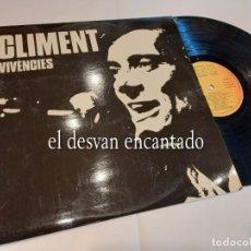 Discos de vinilo: CLIMENT. VIVÉCIES. CARDISC. Lote 263668120