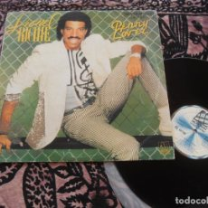 Discos de vinilo: LIONEL RICHIE MAXI SINGLE. PENNY LOVER. MADE IN SPAIN. 1985.. Lote 263669725