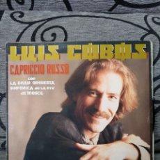 Discos de vinilo: LUIS COBOS - CAPRICCIO RUSSO. Lote 263673150