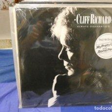 Discos de vinilo: LP ALEMANIA 1987 MUY BUEN ESTADO GENERAL CLIFF RICHARD ALWAYS GUARANTEED. Lote 263677215