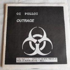 "Discos de vinil: OI POLLOI -OUTRAGE- (1988) SINGLE 7"". Lote 263678145"