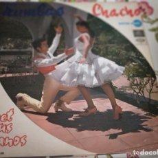 Discos de vinilo: CHACHO / PERET Y SUS GITANOS – RUMBAS SELLO: REGAL – 1 J 040-20.256 M, REGAL – LREG 8.032.VG++/VG. Lote 263680585