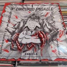 Discos de vinilo: HIGADILLOS,THE RIPPERS ,ESKELA–TERCER CONCURSO PIGALLE. LP VINILO BUEN ESTADO.. Lote 263688525