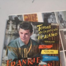 Discos de vinilo: MUSICA SINGLE FRANKIE AVALON TEMAS DE LA PELICULA EL ALAMO 1961. Lote 263699245