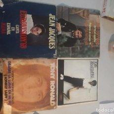 Discos de vinilo: 4 SINGLE DISCOS MÚSICA. Lote 263700295