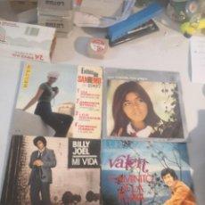 Discos de vinilo: 4 SINGLE DISCOS MÚSICA. Lote 263701820