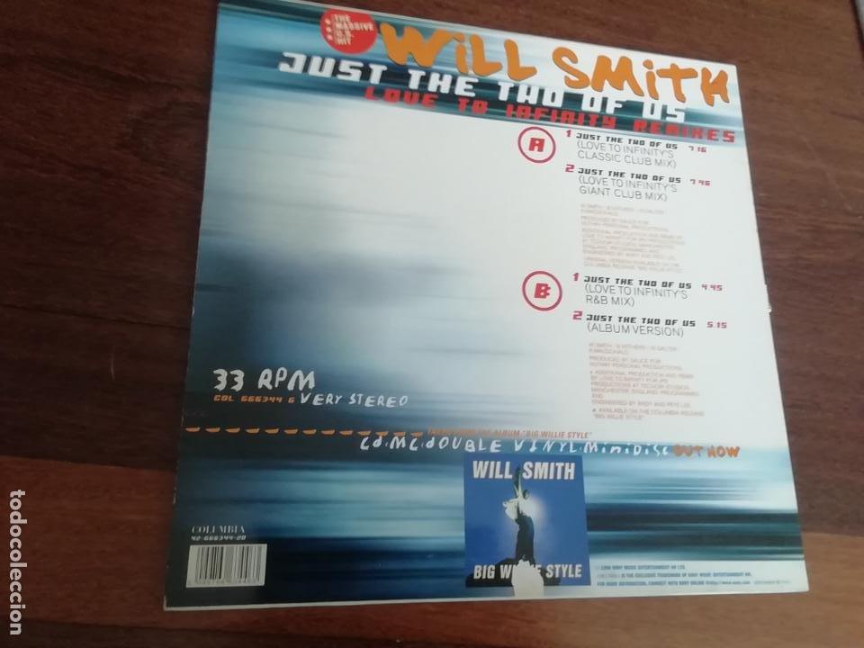 Discos de vinilo: Will Smith - Just the two of us. maxi - Foto 2 - 263702950