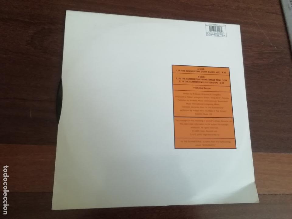 Discos de vinilo: Shaggy featuring rayvon-in the summertime. Maxi - Foto 2 - 263703350