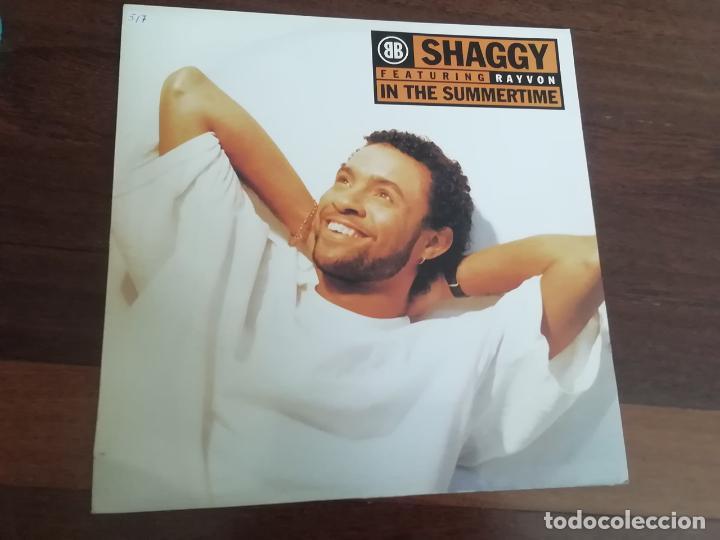 SHAGGY FEATURING RAYVON-IN THE SUMMERTIME. MAXI (Música - Discos de Vinilo - Maxi Singles - Rap / Hip Hop)