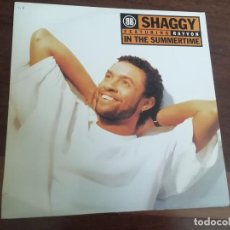 Discos de vinilo: SHAGGY FEATURING RAYVON-IN THE SUMMERTIME. MAXI. Lote 263703350