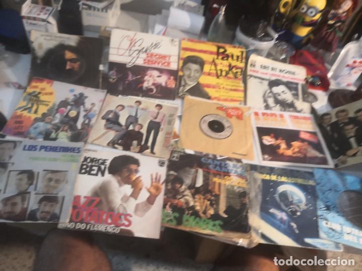 12 SINGLE DISCOS MÚSICA..( THE BEATLES, JORGE BEN ENTRE OTROS) (Música - Discos - Singles Vinilo - Otros estilos)