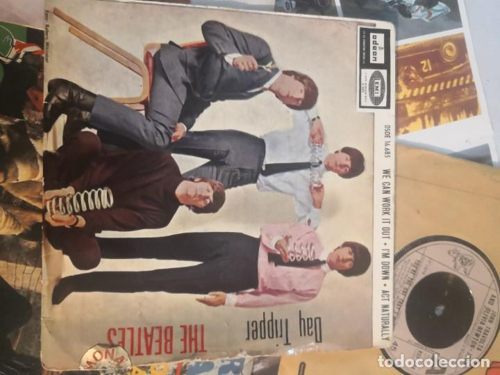 Discos de vinilo: 12 single discos música..( the Beatles, Jorge ben entre otros) - Foto 2 - 263703660