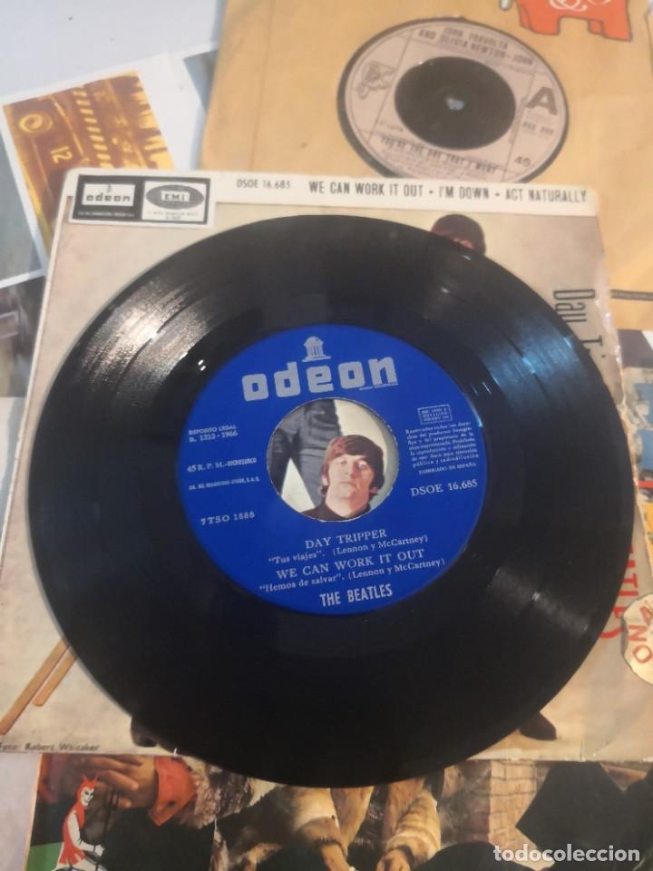 Discos de vinilo: 12 single discos música..( the Beatles, Jorge ben entre otros) - Foto 3 - 263703660