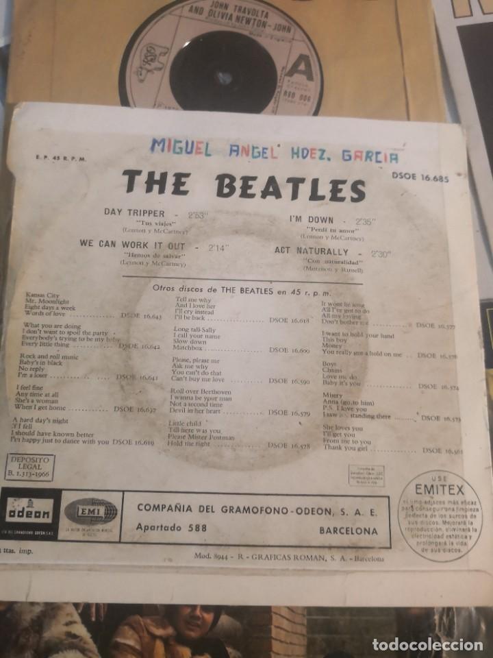 Discos de vinilo: 12 single discos música..( the Beatles, Jorge ben entre otros) - Foto 4 - 263703660