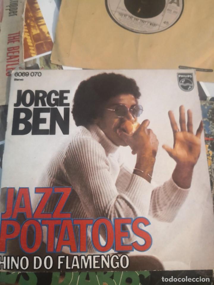 Discos de vinilo: 12 single discos música..( the Beatles, Jorge ben entre otros) - Foto 5 - 263703660