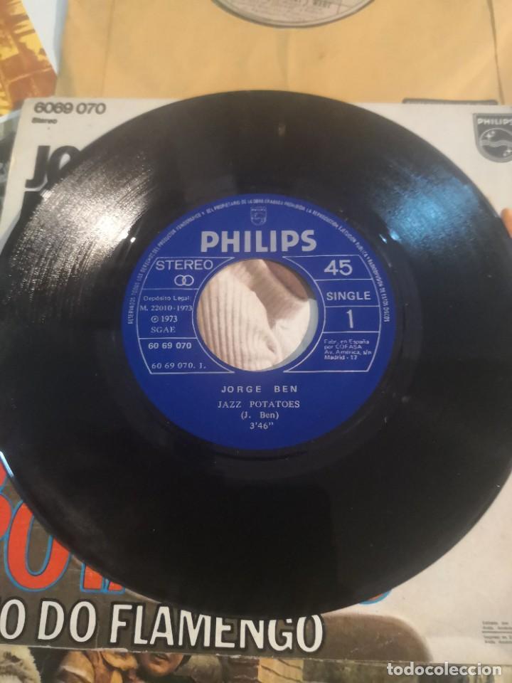 Discos de vinilo: 12 single discos música..( the Beatles, Jorge ben entre otros) - Foto 6 - 263703660