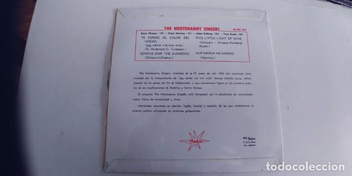 Discos de vinilo: HOOTENANNY SINGERS-EP TE ESPERO AL CALOR DEL HOGAR +3-NUEVO - Foto 2 - 263716025