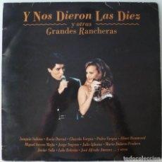 Discos de vinilo: Y NOS DIERON LAS DIEZ (2XLP ARIOLA 1993) SABINA · CHAVELA VARGAS · ROCIO DURCAL · MARISOL · DYANGO. Lote 263729490