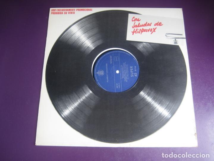 ALASKA Y DINARAMA - MAXI SINGLE HISPAVOX 1985 - NI TU NI NADIE/ JAIME Y LAURA - PORTADA PROMO - (Música - Discos de Vinilo - Maxi Singles - Grupos Españoles de los 70 y 80)