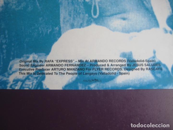 Discos de vinilo: A-Chi-Li-Pu - maxi single flyer records 1991 - ELECTRONICA HOUSE TECHNO POP - SIN USO - Foto 3 - 263734030