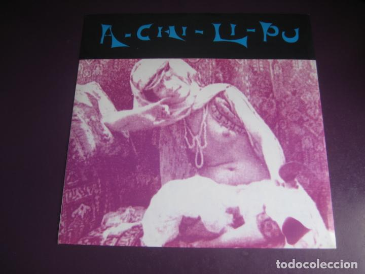 A-CHI-LI-PU - MAXI SINGLE FLYER RECORDS 1991 - ELECTRONICA HOUSE TECHNO POP - SIN USO (Música - Discos de Vinilo - Maxi Singles - Techno, Trance y House)