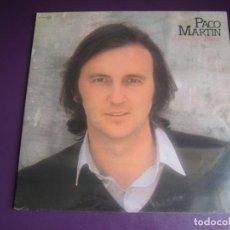 Discos de vinilo: PACO MARTIN - A PASO DESCUBIERTO - LP ZAFIRO 1980 PRECINTADO - MELODICA POP 70'S. Lote 263734535