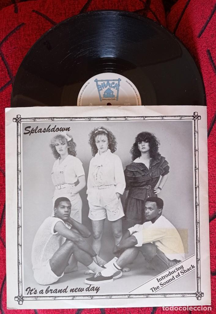 SPLASHDOWN IT'S A BRAND NEW DAY 1982 UK MAXI SINGLE VINILO (Música - Discos de Vinilo - Maxi Singles - Reggae - Ska)
