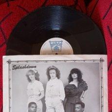 Discos de vinilo: SPLASHDOWN IT'S A BRAND NEW DAY 1982 UK MAXI SINGLE VINILO. Lote 263736405