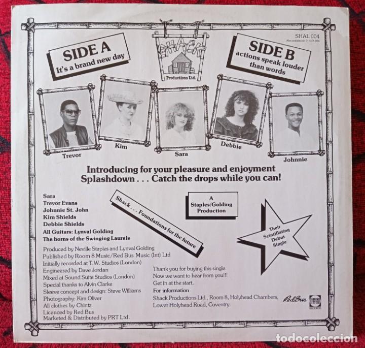 Discos de vinilo: SPLASHDOWN ITS A BRAND NEW DAY 1982 UK MAXI SINGLE VINILO - Foto 2 - 263736405