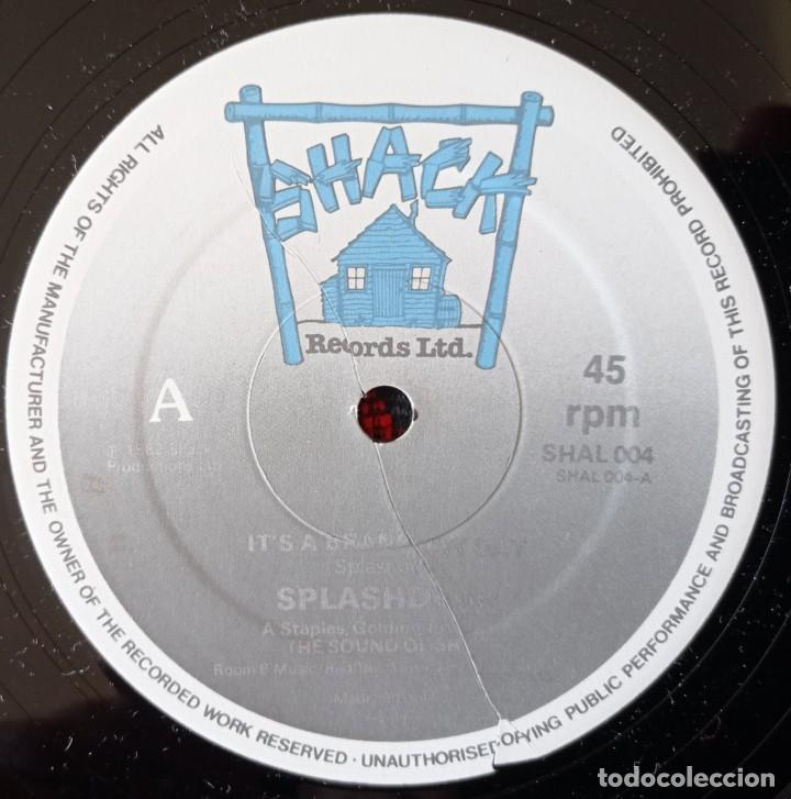 Discos de vinilo: SPLASHDOWN ITS A BRAND NEW DAY 1982 UK MAXI SINGLE VINILO - Foto 3 - 263736405