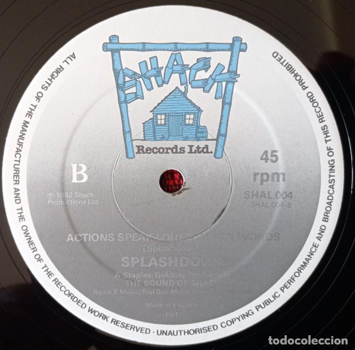Discos de vinilo: SPLASHDOWN ITS A BRAND NEW DAY 1982 UK MAXI SINGLE VINILO - Foto 4 - 263736405