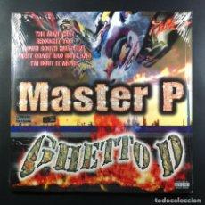 Discos de vinilo: MASTER P - GHETTO D - DOBLE LP US 2017 - PRIORITY (NUEVO / PRECINTADO). Lote 263736455